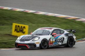Hendrik Still Kim Berwanger KÜS Team75 Bernhard Porsche Cayman GT4 ADAC GT4 Germany Sachsenring