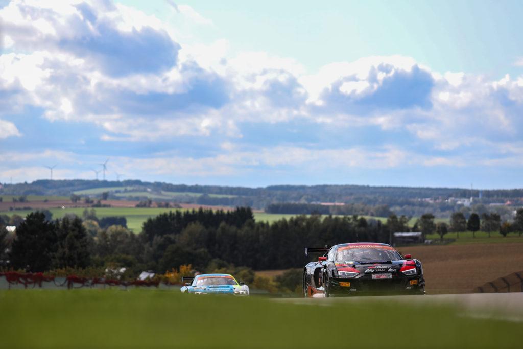Remo Lips Stéphane Tribaudini Aust Motorsport Audi R8 LMS ADAC GT Masters Sachsenring