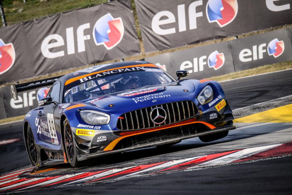 Nico Bastian Thomas Neubauer AKKA ASP Mercedes AMG GT3 Blancpain GT World Challenge Budapest