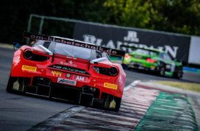 Wolfgang Triller Florian Scholze HB Racing Ferrari 488 GT3 Blancpain GT World Challenge Europe Budapest