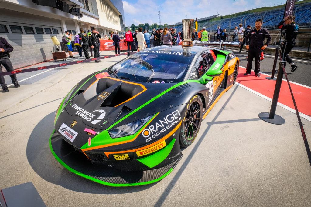 Marco Mapelli Andrea Caldarelli Orange 1 FFF Racing Team Lamborghini Huracan GT3 Blancpain GT World Challenge Europe Budapest