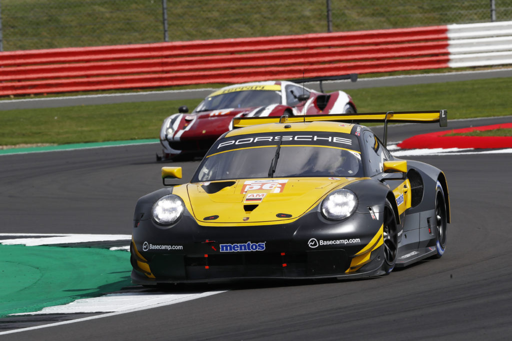 Egidio Perfetti Matteo Cairoli David Kolkmann Project 1 Porsche 911 RSR FIA WEC Silverstone