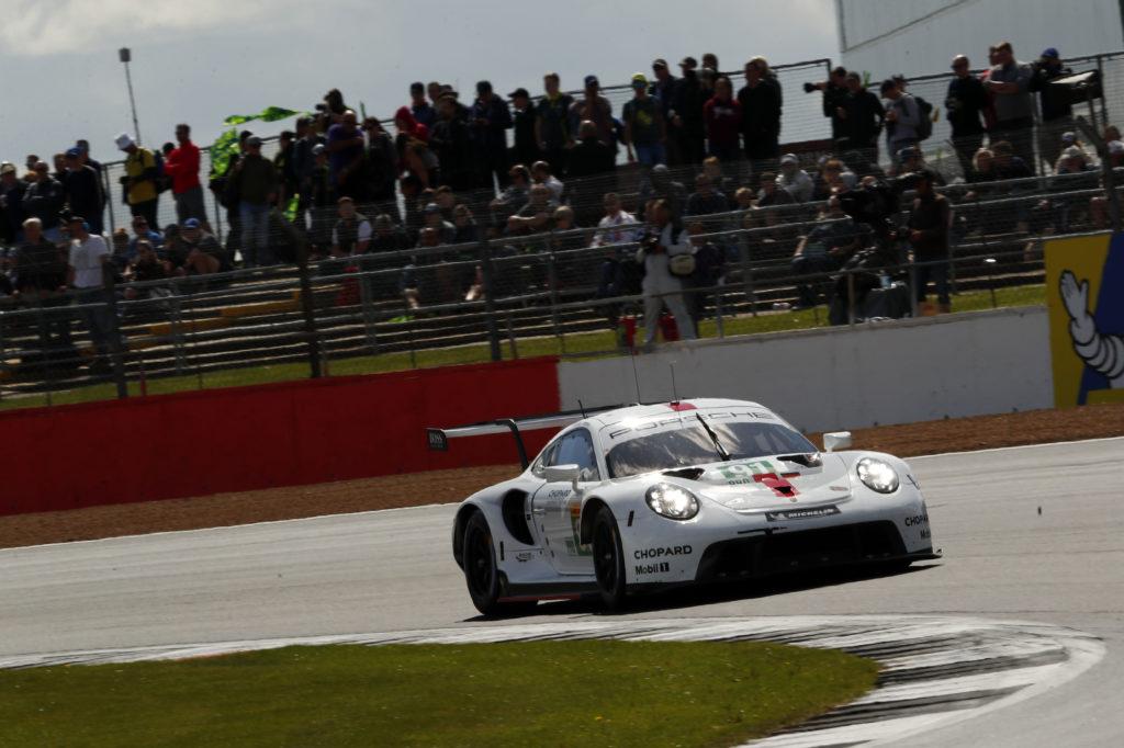 Gianmaria Bruni Richard Lietz Porsche 911 RSR FIA WEC Silverstone