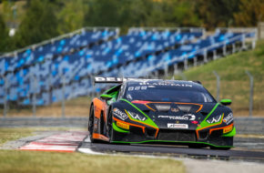 Marco Mapelli Andrea Caldarelli Orange 1 FFF Racing Team Lamborghini Huracan GT3 Blancpain GT World Challenge Europe Budapest