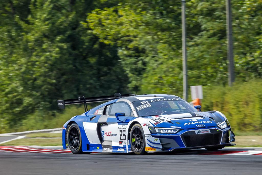 Simon Gachet Christopher Haase Sainteloc Racing Audi R8 LMS Blancpain GT World Challenge Europe Budapest