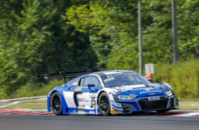 Simon Gachet Christopher Haase Sainteloc Racing Audi R8 LMS Blancpain GT World Challenge Europe Budapest