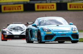 Jan Kasperlik Lars Kern Allied-Racing Porsche Cayman GT4 ADAC GT4 Germany Sachsenring