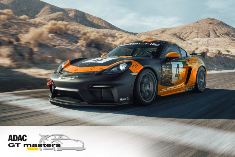 Designstudie GTronix360 Team mcchip-dkr Porsche Cayman GT4