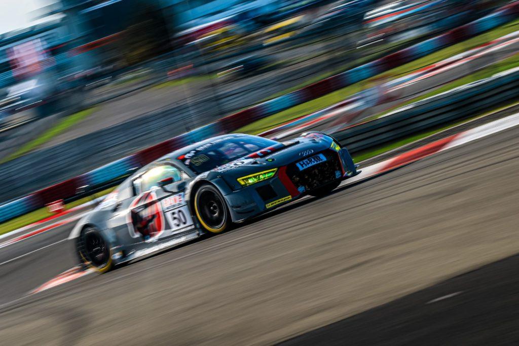 Arno Klasen Michael Heimrich équipe vitesse Audi R8 LMS VLN Nürburgring