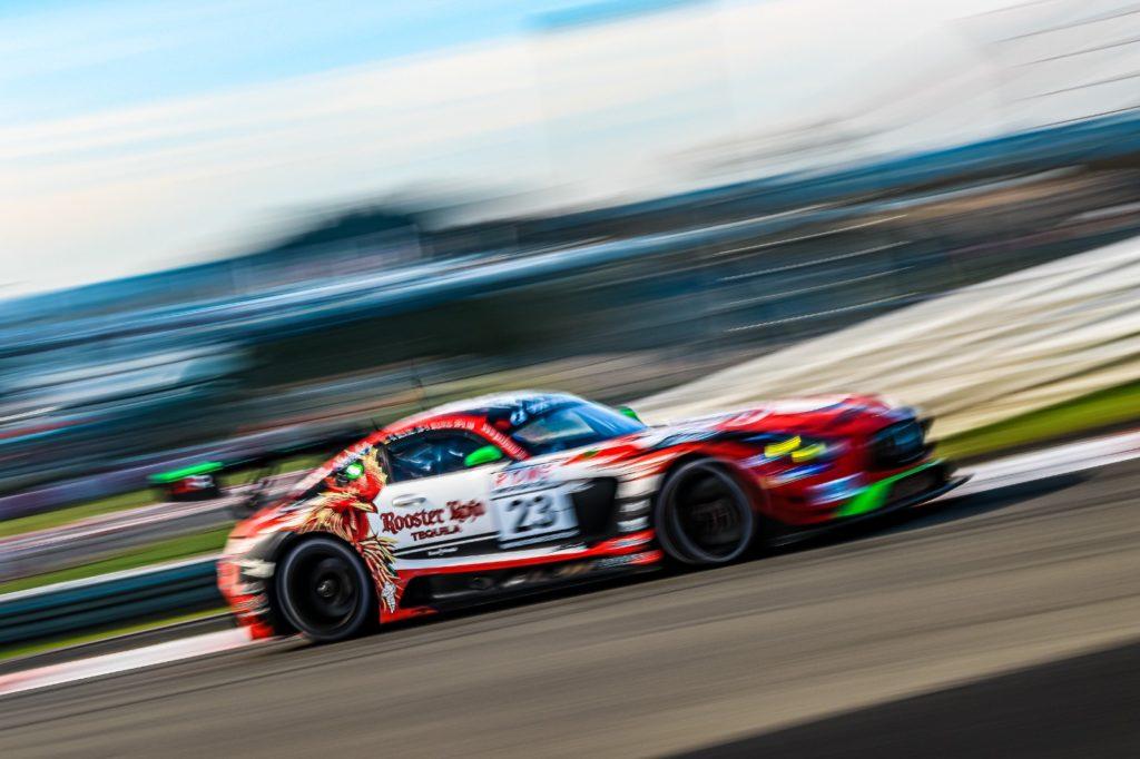 John Shoffner Janine Hill Faboan Schiller GetSpeed Performance Mercedes AMG GT3 VLN Nürburgring