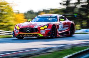 Philip Ellis Maximilian Götz GetSpeed Performance Mercedes AMG GT3 VLN Nürburgring