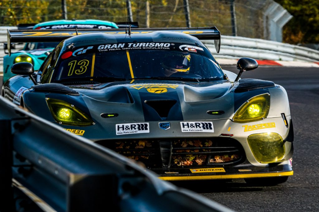Daniel Keilwitz Hendrik Still Team Zakspeed Dodge Viper GT3-R VLN Nürburgring