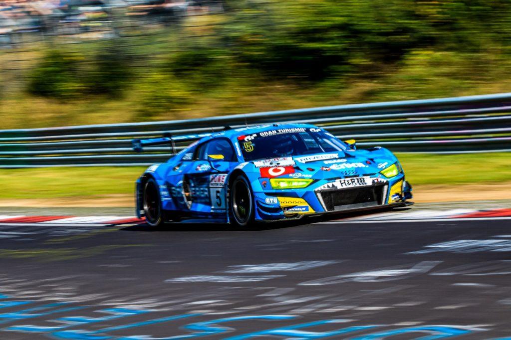Frank Stippler Vincent Kolb Phoenix Racing Audi R8 LMS VLN Nürburgring