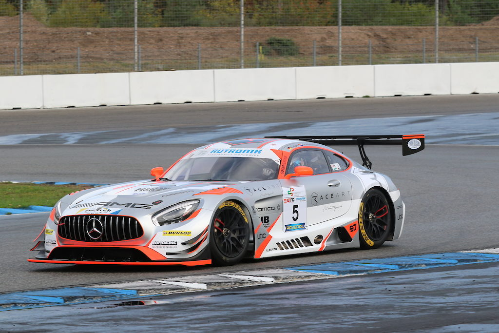 Kenneth Heyer Christiaan Frankenhout Race-Art-Motorsport Mercedes AMG GT3 DMV GTC Hockenheim