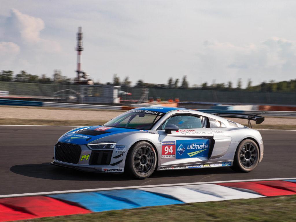 Tom Spitzenberger Audi Sport Seyffarth R8 LMS Cup Lausitzring