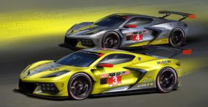 Designs Corvette C8.R