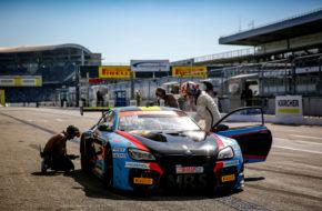 Jens Klingmann Nicolaj Sylvest MRS GT-Racing BMW M6 GT3 ADAC GT Masters Hockenheim