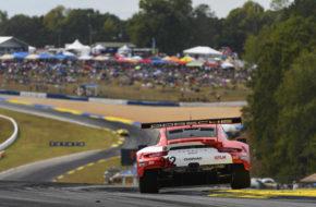 Earl Bamber Laurens Vanthoor Mathieu Jaminet Porsche 911 RSR IMSA WeatherTech SportsCar Championship Petit Le Mans