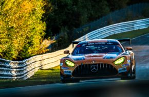 Luca Stolz Yelmer Buurman Mercedes-AMG Team Black Falcon Mercedes AMG GT3 VLN Nürburgring