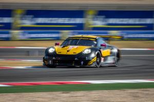 Larry ten Voorde Jeroen Bleekemolen Ben Keating Project 1 Porsche 911 RSR FIA WEC Shanghai