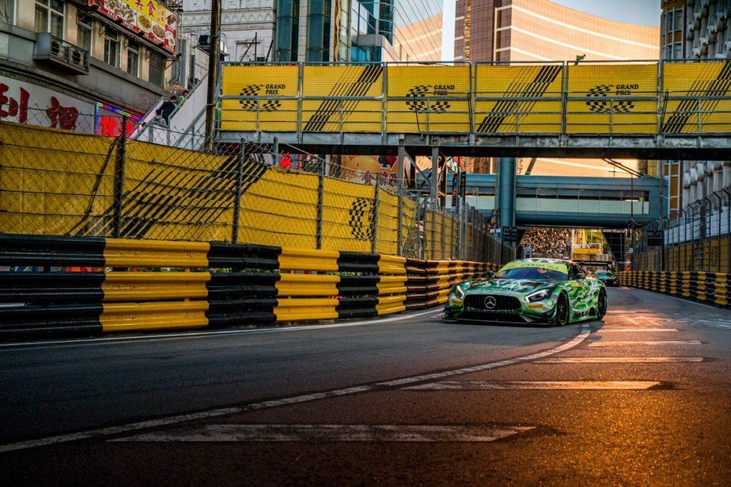 Raffaele Marciello Mercedes-AMG Team GruppeM Racing Mercedes AMG GT3 FIA GT World Cup Macau