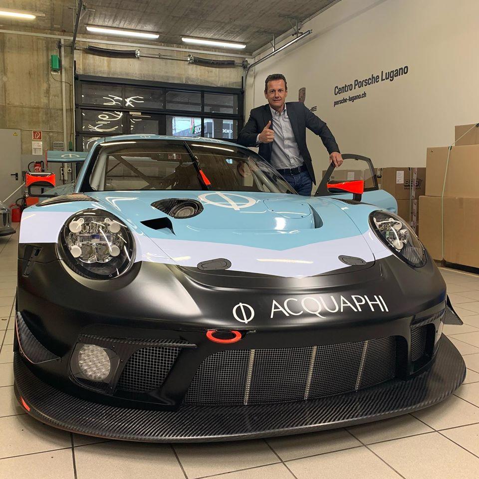 Centro Porsche Lugano Porsche 911 GT3 R