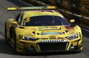 Christopher Haase Phoenix Racing Audi R8 LMS FIA GT World Cup Macau