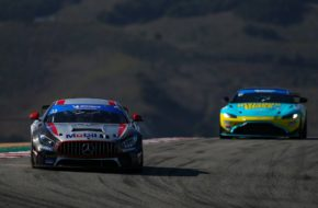 Winward Racing Mercedes AMG GT4 IMSA Michelin Pilot Challenge