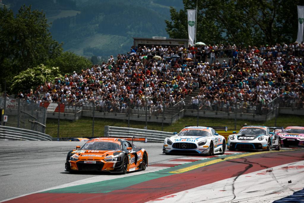 Mike David Ortmann Markus Winkelhock BWT Mücke Motorsport Audi R8 LMS ADAC GT Masters Red Bull Ring