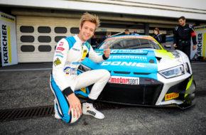 Dennis Marschall HCB-Rutronik Racing Audi R8 LMS ADAC GT Masters Hockenheim