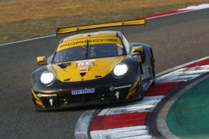 Egido Perfetti Matteo Cairoli David Heinemeier Hansson Team Project 1 Porsche 911 RSR FIA WEC Shanghai