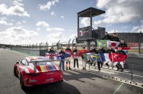 Porsche-Junior Sichtung Portimao