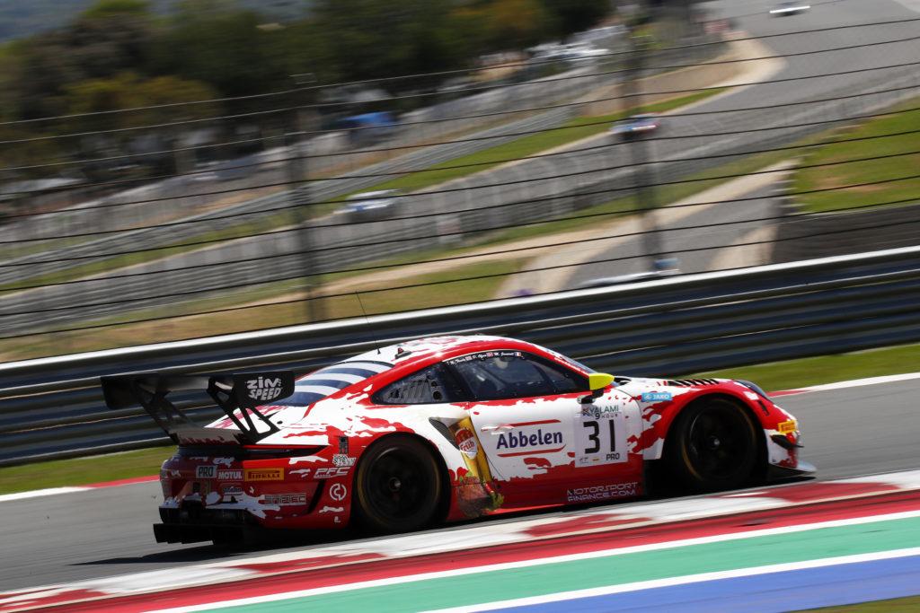 Mathieu Jaminet Dennis Olsen Nick Tandy Frikadelli Racing Porsche 911 GT3 R Intercontinental GT Challenge Kyalami
