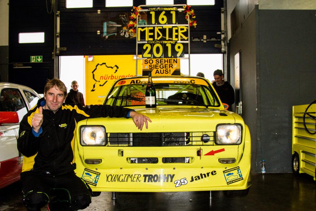 Michael Nolte Opel Kadett C Coupé Youngtimer Trophy Nürburgring