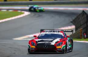 Maximilian Götz Yelmer Buurman Luca Stolz Mercedes-AMG Team SPS automotive performance Mercedes AMG GT3 Intercontinental GT Challenge Kyalami