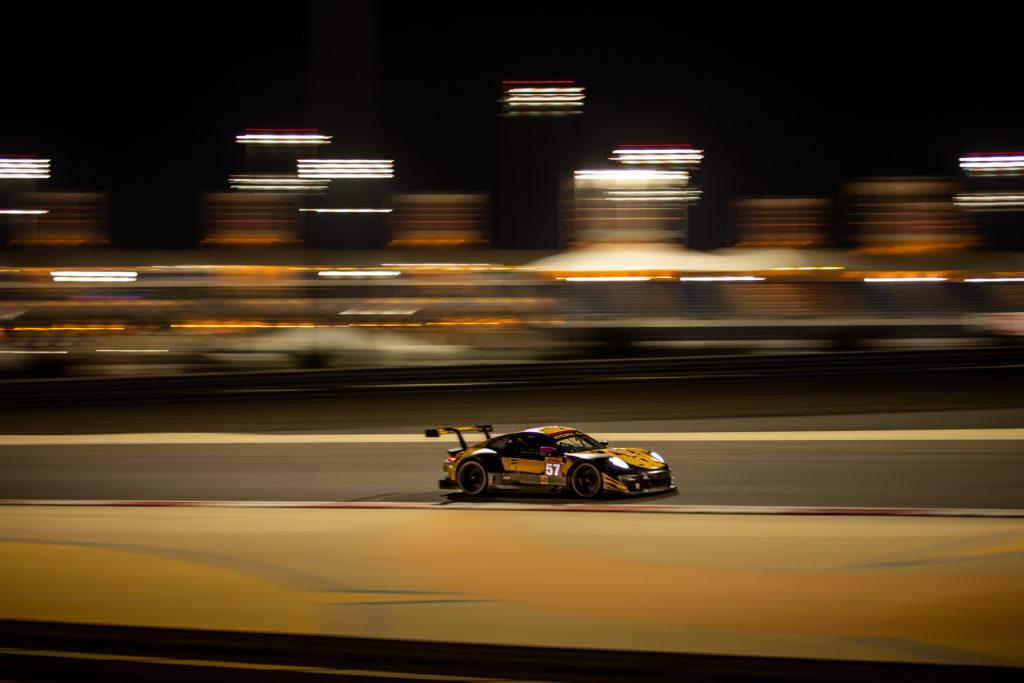 Larry ten Voorde Jeroen Bleekemolen Ben Keating Project 1 Porsche 911 RSR FIA WEC Bahrain