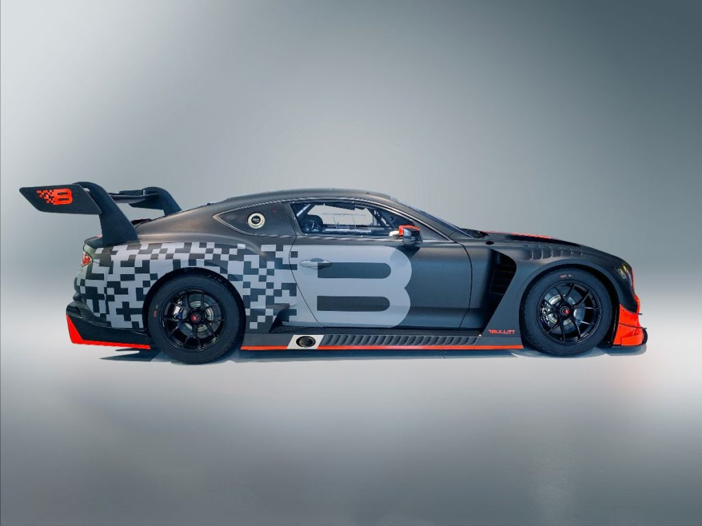 Bullitt Racing Bentley Continental GT3