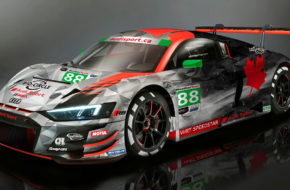 Mirko Bortolotti Dries Vanthoor Rolf Ineichen Daniel Morad WRT Speedstar Audi Sport 24h Daytona