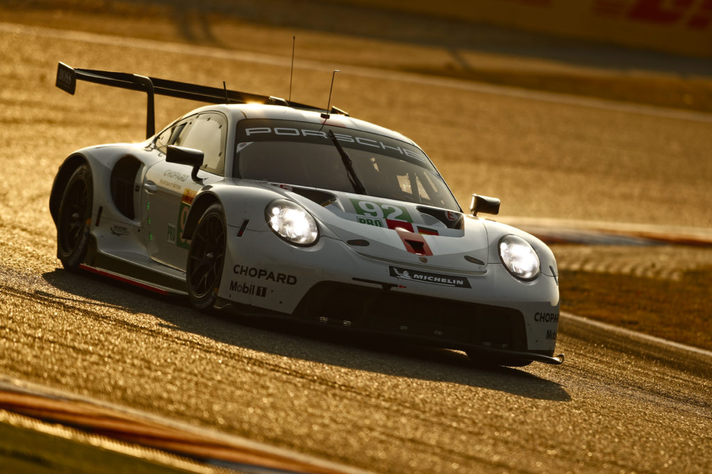 Michael Christensen Kevin Estre Porsche GT Team Porsche 911 RSR FIA WEC Shanghai