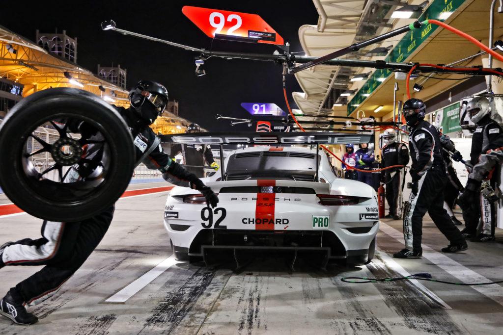 Michael Christensen Kevin Estre Porsche GT Team Porsche 911 RSR FIA WEC Bahrain