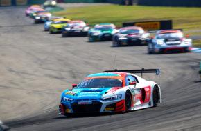 Kelvin van der Linde Patric Niederhause HCB-Rutronik Racing Audi R8 LMS ADAC GT Masters Hockenheim