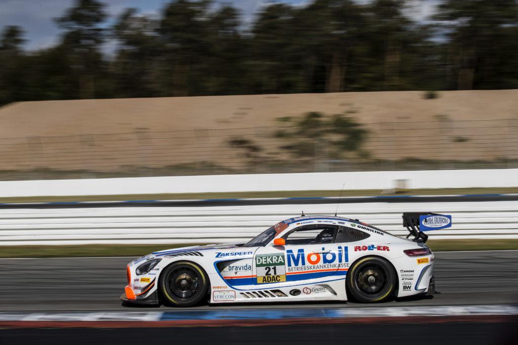 Daniel Keilwitz Jimmy Eriksson Team Zakspeed Mercedes AMG GT3 ADAC GT Masters Hockenheim
