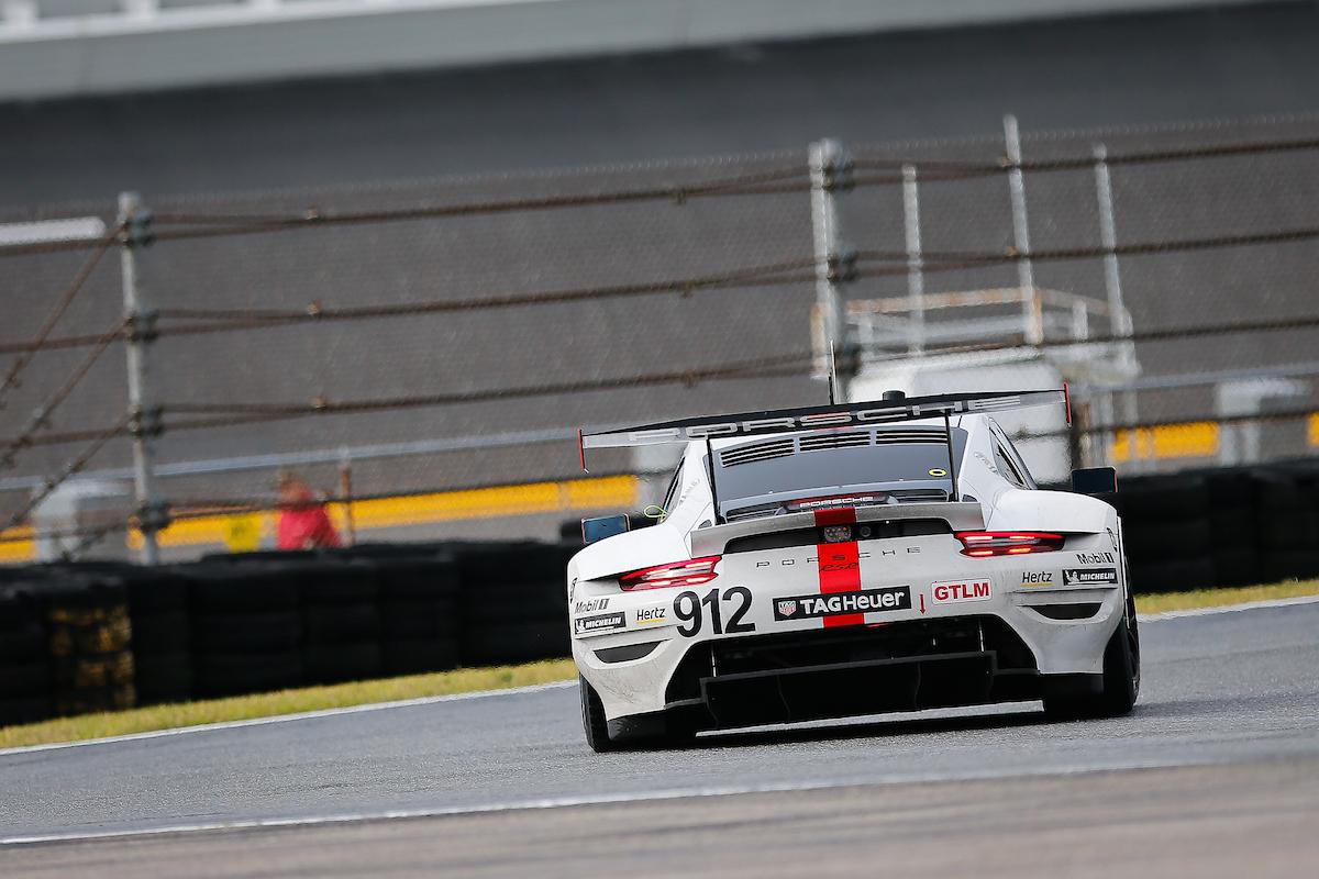 Laurens Vanthoor Earl Bamber Mathieu Jaminet Porsche GT Team Porsche 911 RSR IMSA WeatherTech SportsCar Championship 24h Daytona