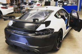 W&S Motorsport Porsche Cayman GT4