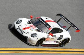Earl Bamber Laurens Vanthoor Mathieu Jaminet Porsche GT Team Porsche 911 RSR ROAR Before the 24 IMSA WeatherTech SportsCar Championship