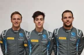 Ollie Caldwell Luca Ghiotto Marvin Kirchhöfer R-Motorsport