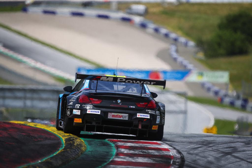 Jens Klingmann Nicolaj Sylvest MRS GT-Racing BMW M6 GT3 ADAC GT Masters Red Bull Ring