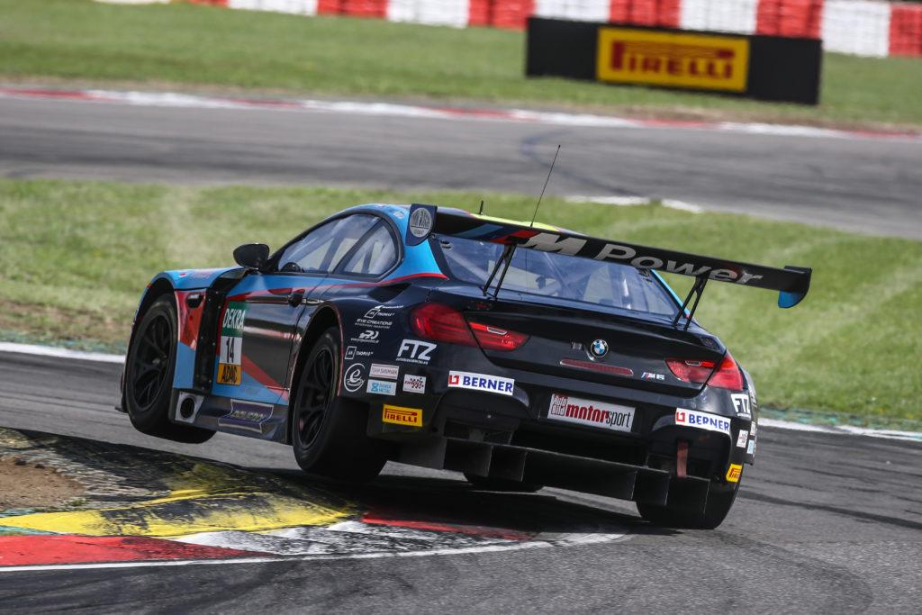 Jens Klingmann Nicolaj Sylvest MRS GT-Racing BMW M6 GT3 ADAC GT Masters Nürburgring