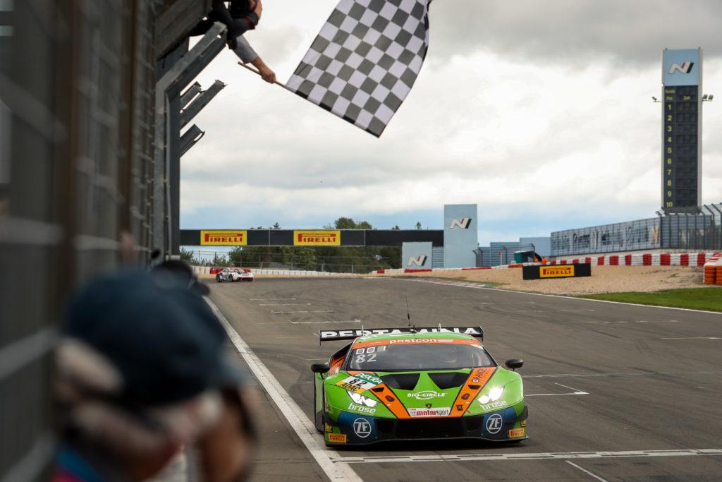 Franck Perera Rolf Ineichen Orange1 by GRT Grasser Lamborghini Huracan GT3 ADAC GT Masters Nürburgring