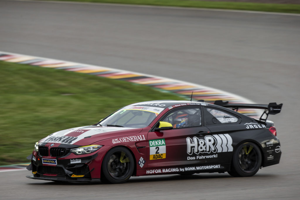 Thomas Jäger Michael Schrey Hofor Racing by Bonk Motorsport BMW M4 GT4 ADAC GT4 Germany Sachsenring